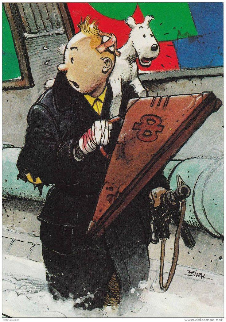 Tintin vu par Enki Bilal