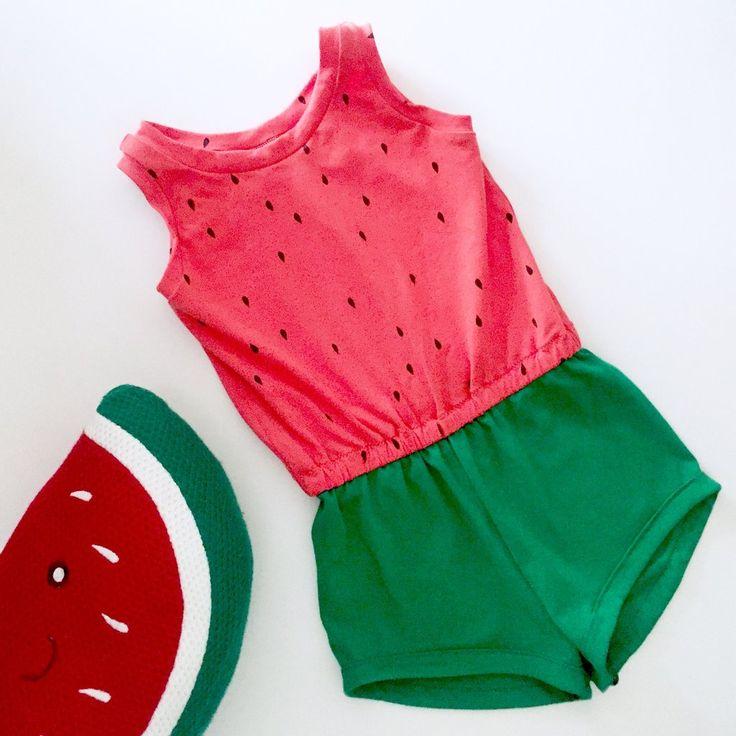 The Big Kids Watermelon YummiRomper
