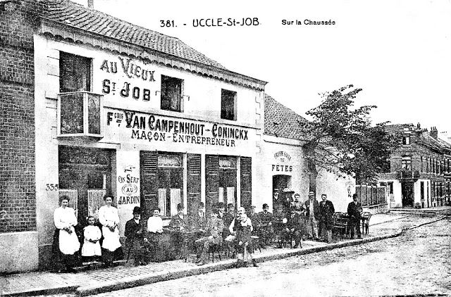 La Belgique Des Quatre Vents La Belgique D Antan Uccle Photos Entre 1890 Et 1935 Foto S Oude Foto S Vakantie