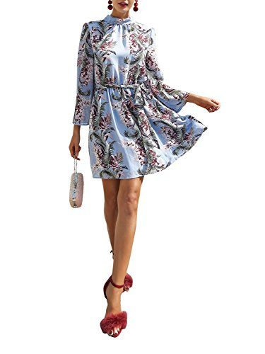 New BerryGo Women's Elegant Backless Lace Up Floral Print Beach Dress online. Find the perfect Babe Society Dresses from top store. Sku tetc99616vuzv77096