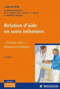 Marie-Claude Daydé et Marie-Luce Lacroix - Relation d'aide soins infirmiers - SFAP, Société française d'accompagnement et de soins palliatifs.