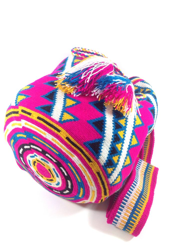 Wayuu Mochila Bag, authentic handmade in Colombia. #wayuu @shopkokay