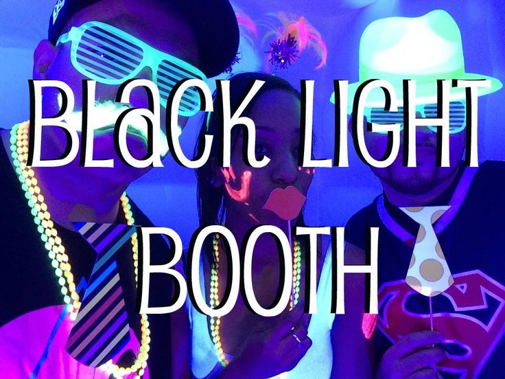 9 best diy photo booth images on pinterest wedding parties learn how to setup do it yourself black light booth in a few easy solutioingenieria Gallery