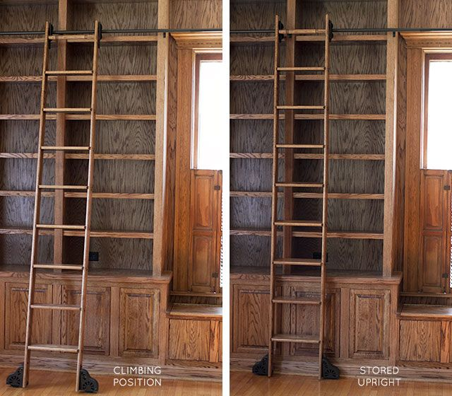 1000 Images About Rolling Library Ladders On Pinterest