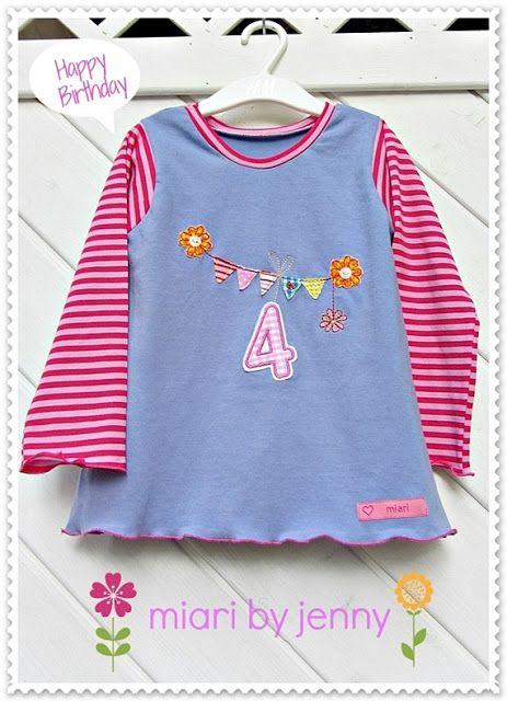 miari: Mein kleines Haus-Freebie auf Geburtstagsshirt by #allerlieblichst