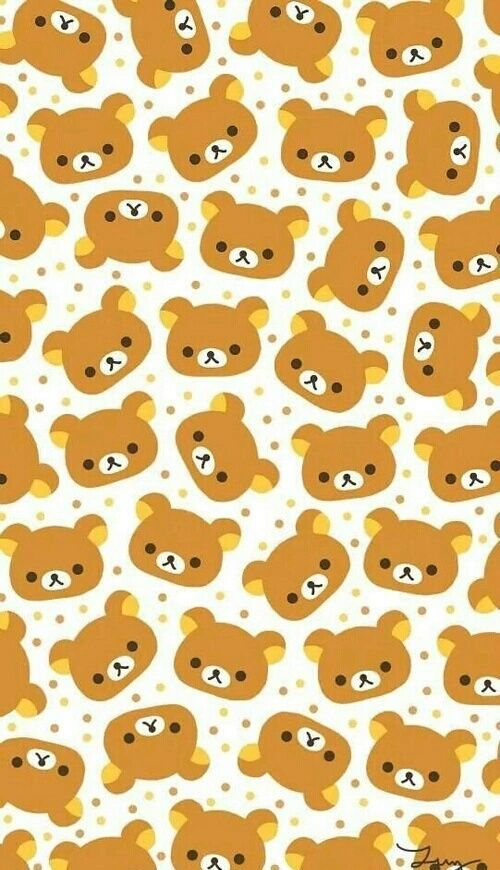 wallpaper, rilakkuma, and background image