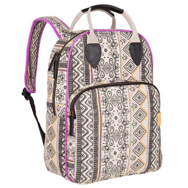 LÄSSIG Vintage Backpack Ethno Sand #Lässig #Rucksack #Kinderrucksack #Ethnostyle