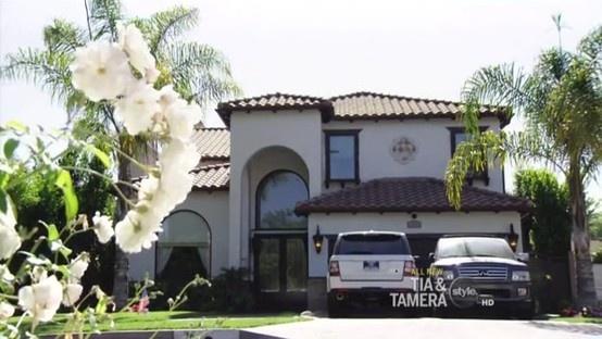 Tia Mowry villa in Los Angeles