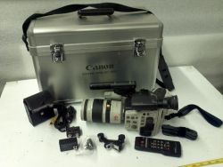 10086 - Canon L1A 8mm Video Camera and Recorder for sale at bmisurplus.com