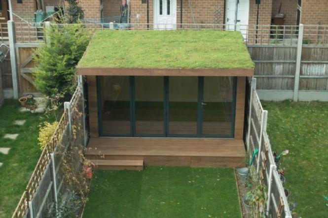 Sedum Green Roof In 2020 Green Roof Garden Green Roof Green Roof House