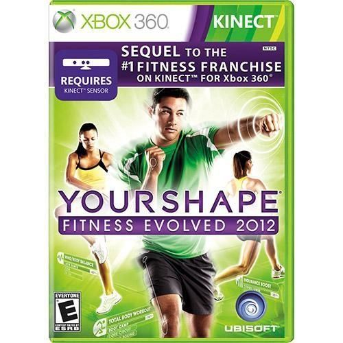 Your Shape Fitness Evolved 2012 Game Kinect DVD XBOX 360