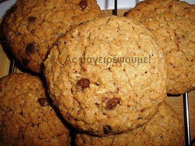 Cookies με βρώμη