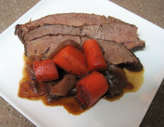 Braised Beef and Carrots