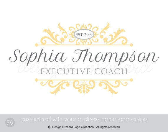 Executive Coach Logo Professional business logo by DesignOrchard