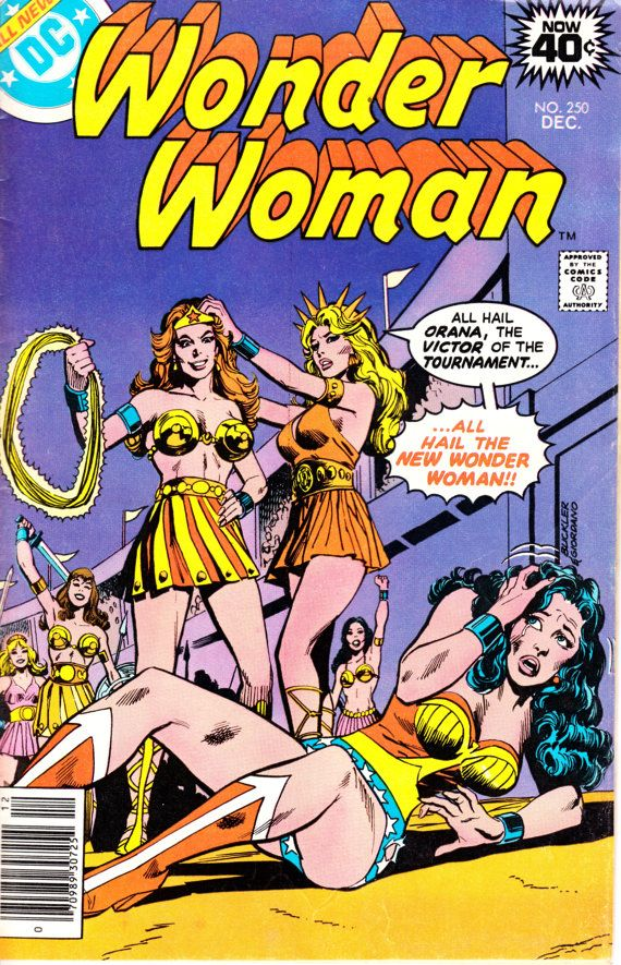 Wonder Woman 1942-1986 1st Series DC 251  December by ViewObscura