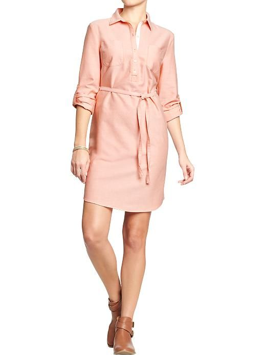 Women's Oxford Shirtdresses Product Image