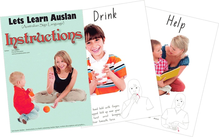 Instructions - 26 pages of instructions and directions you might tell a child.  One of the first books in Australia to incorporate Auslan (Australian Sign Language) and full colour graphics in an easy to understand manner $20.00