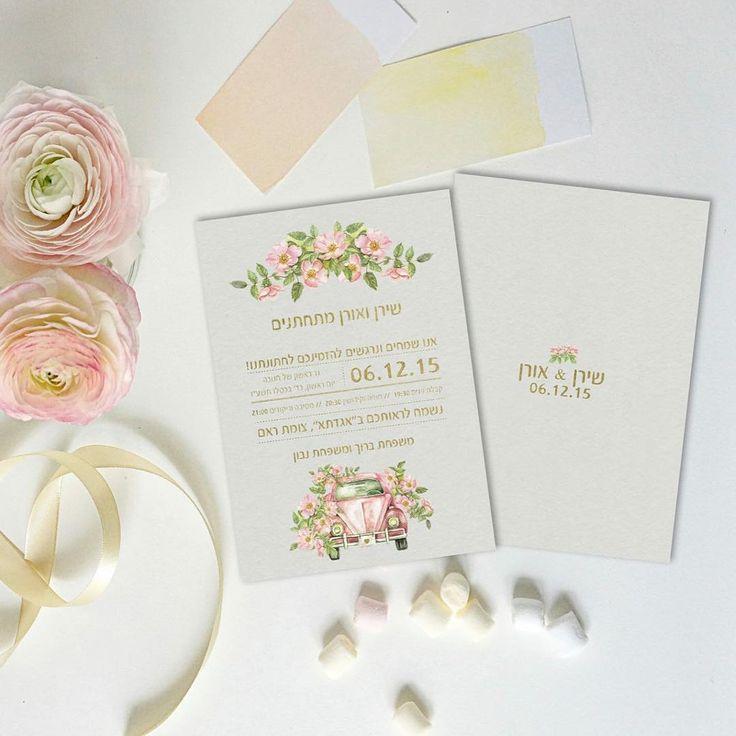 Sixties Mood! #wedding #eventdesign #instamood #crafts  #instalove #weddinginspiration #stationery #pastelinspiration #sixtiesinspired #weddinginisrael #watercolor @urbanbrides @shiranatad