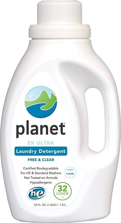Acne Friendly Household Products Planet Free Clear Laundry