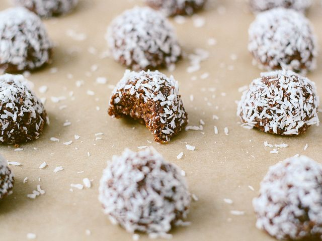Raw cacao macaroons by Ashlae | oh, ladycakes, via Flickr