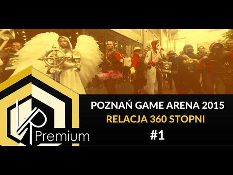 #PoznanGameArena #cosplayers #dancing #360video for #vr
