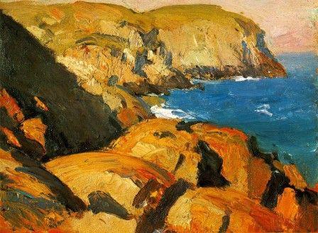 Blackhead, Monhegan - Edward Hopper