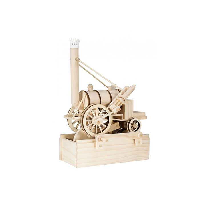 Timberkits Stephenson's Rocket Kit Main