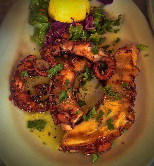 Grilled Octopus is a delicious dish that is served as an appetizer in Greek taverns, usually with fried potatoes, Greek salad, tzatziki and ouzo to drink. The best way to enjoy it, is sitting in a...