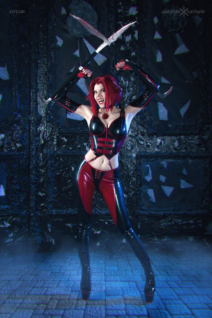 character bloodrayne from terminal reality s