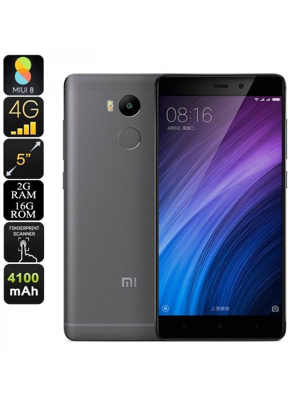 Xiaomi Redmi 4 Smartphone 16GB (Grey)
