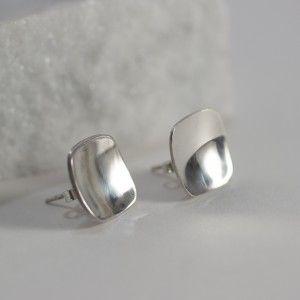 Silver earrings by Rey Urban