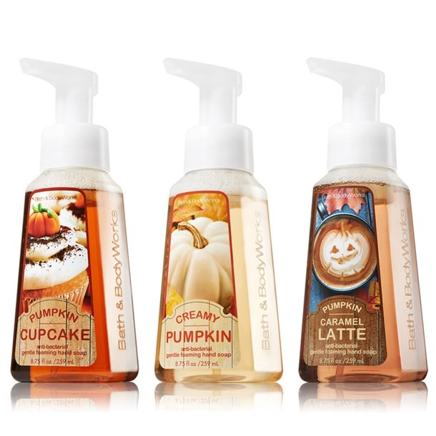Bath Body Works Fall 2013 Anti Bacterial Hand Soaps Looking forward to trying these soaps for this  fall season.