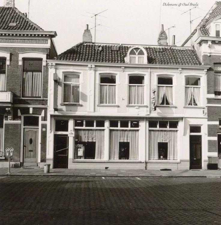 Ginnekenweg 24. Café Riche. 1973 BREDA