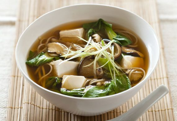 Weight Watchers' tofu and mushroom miso soup recipe - 9Kitchen
