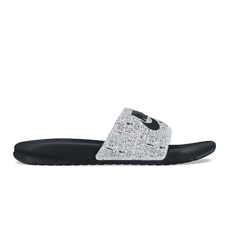 Unisex Funny Cool Smoking Sunglasses Cat Summer Beach Herringbone Shoes Sandals Slipper Indoor & Outdoor Flip-flops