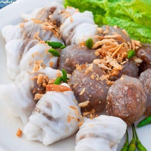 (Sa-koo & Kwao Griab Pak mor) สาคู ข้าวเกรียบปากหม้อ -Thai's Dim Sum (Thai's Snack)   Food ...