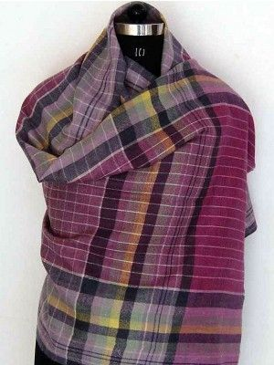 Pashmina Checks For Sale - Buy Pashmina plaid shawls and scarves online at just $220 from Baba Black Sheep. See our other Baba Black Sheep shawls and scarves online.