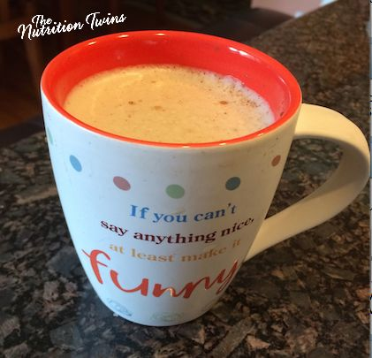 Creamy Vanilla Coconut Coffee | Only 57 Calories | No artificial or chemical creamers | For MORE RECIPES please SIGN UP for our FREE NEWSLETTER www.NutritionTwins.com