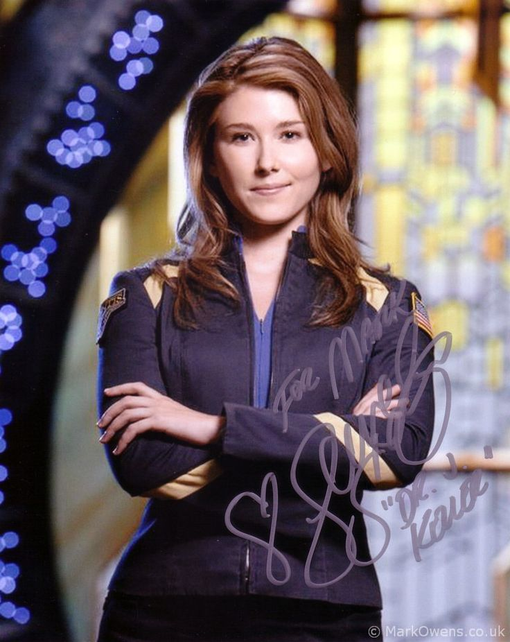 Jewel Staite aka Dr Koler in Stargate Atlantis