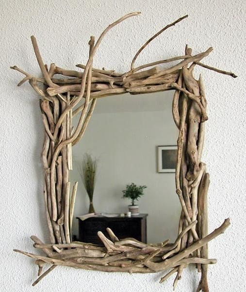 I'm GOING to use driftwood, somehow. This one with the mirror is a great idea! I might do it!
