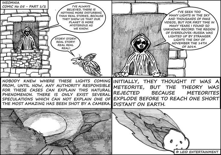 Insomnia - Comic No 05 - Part 1/2
