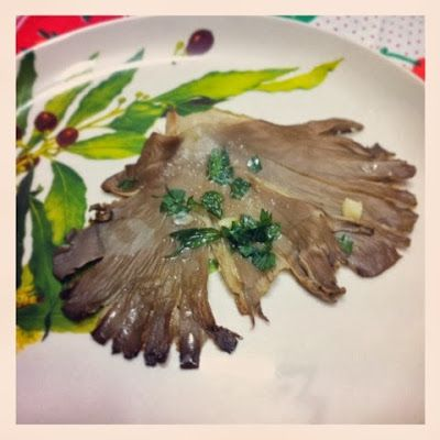 Funghi Pleurotus Ostreatus (Brise) al forno