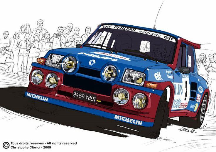 Les illustrations de christophe: R5 Turbo Ragnotti