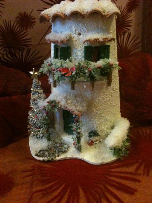 Tegole decorate Tegola di Natale