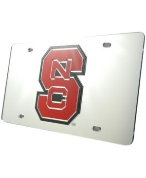 Stockdale North Carolina State Wolfpack License Plate - Silver