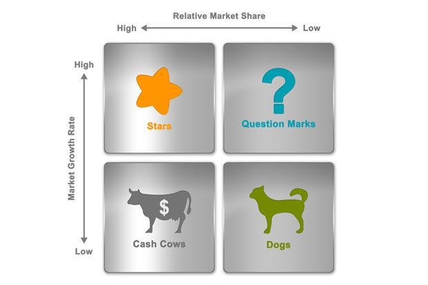 A BCG matrix helps organizations figure out which areas of their business deserve more resources and investment.