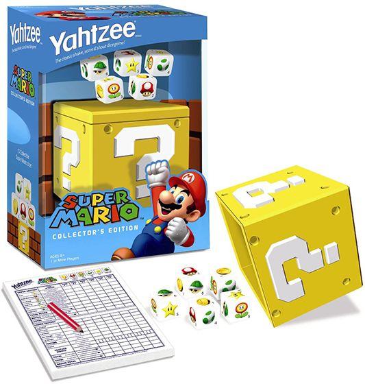 Super Mario Collector's Edition Yahtzee Game
