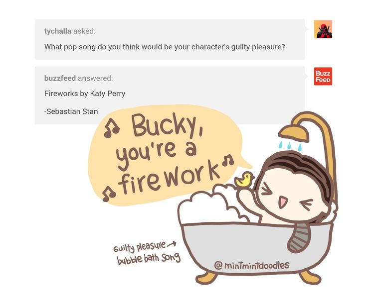 buckybarneswintersoldier:  mintmintdoodles:  From today's @buzzfeed fun :)  Original post: http://buzzfeed.tumblr.com/post/140809414187   [Doodle Master List]   Bucky, you're a firework!Now you've got a metal arm!People go, Aaa! Aaa! Aaa!As your hair flows through the sky-y-y!  As your hair flows through the sky-y-y  *laughs so hard I'm crying help*