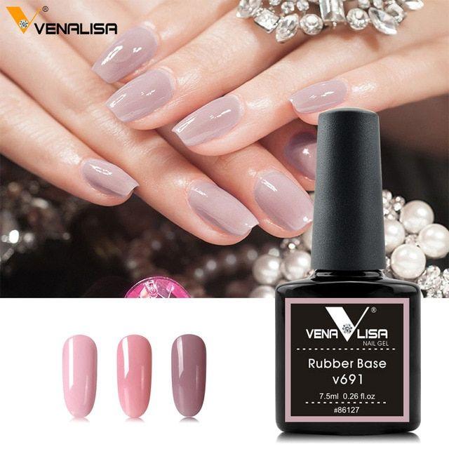 Venalisa 7 5ml Natural Camouflage Colors Rubber Base Topcoat Nail Gel Polish Gel Nails French Nails Gel Polish Nail Art