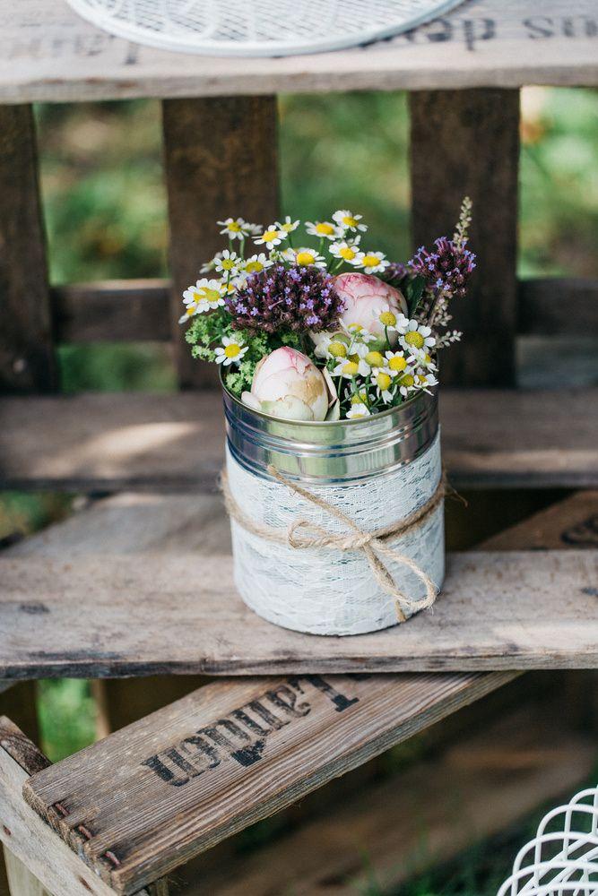 Sommerliche Hochzeit auf dem Land -